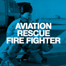 Aviation rescue fire fighter