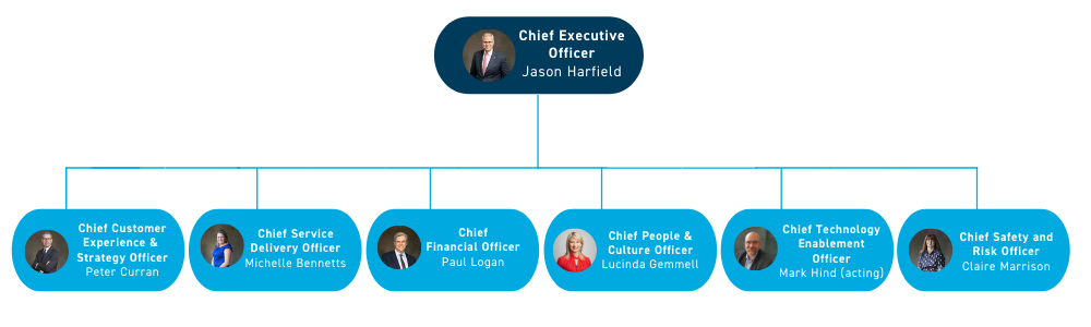 Executive Structure of Operating Model