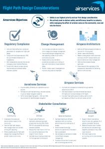 Flight Path Design Considerations Summary PDF link