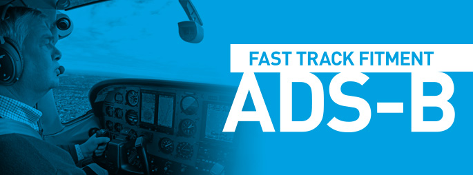 Fast track fitted ADS-B