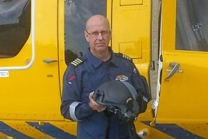 CHC pilot / base manager Mick Perren