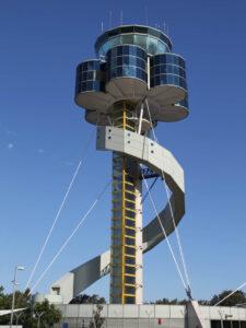 Sydney air traffic control tower.