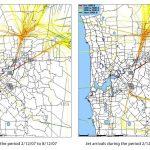 Jet Arrivals: December 2007 v December 2008