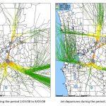 Jet Departures: March 2008 v March 2009