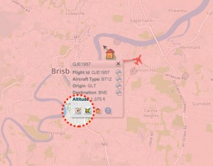 Click on the report aircraft icon and complete the form