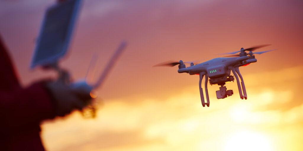 Drone sunset_UTM