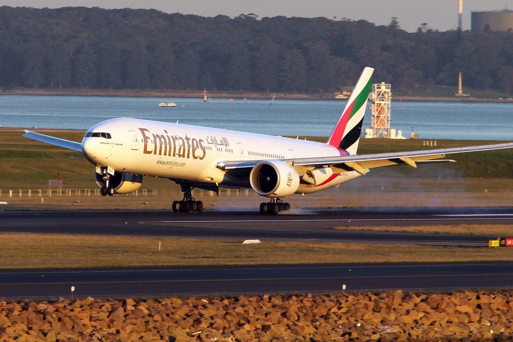 Emirates at Sydney Airport