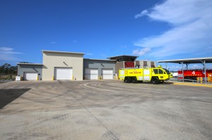 Gladstone aviation rescue fire fighting station